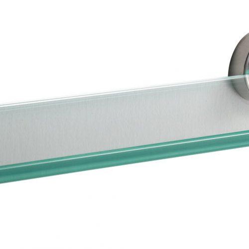Sonia Tecno Stainless Steel Bathroom Glass Shelf 153862