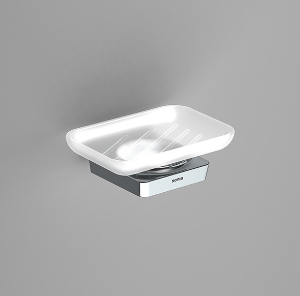 Sonia S6 Modern Wall Mounted Modern Soap Dish 161003