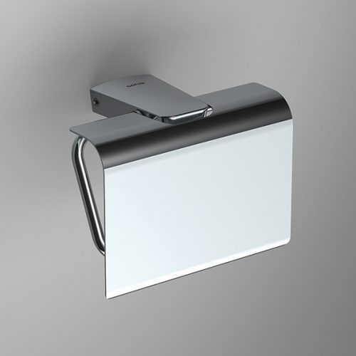 Sonia S6 toilet roll holder with flap cover 161034