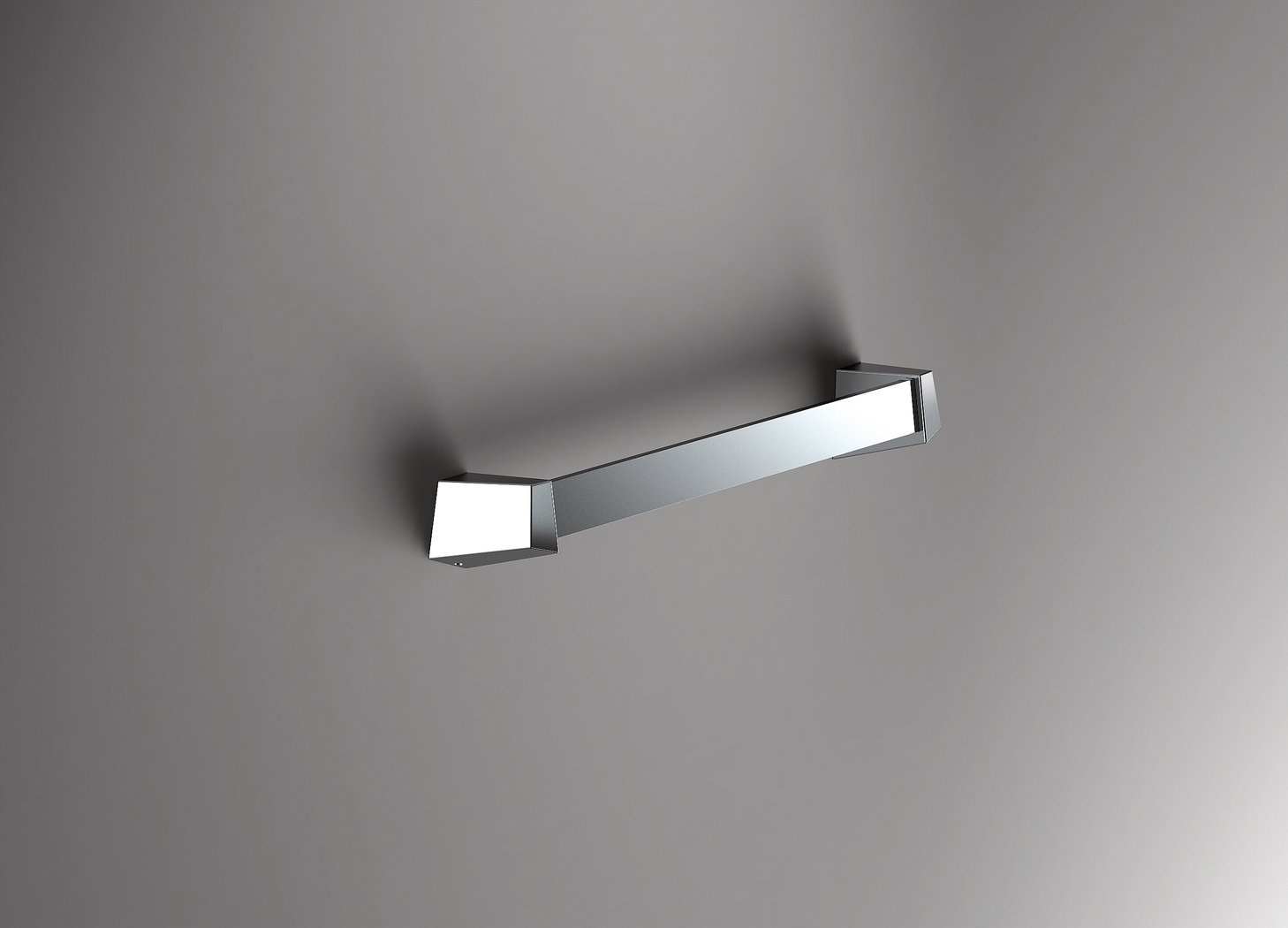 Sonia S8 Modern Chrome 34cm Bathroom Towel Rail 161775