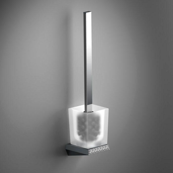 Sonia S8 Swarovski Sparkly WC Toilet Brush Set 161966
