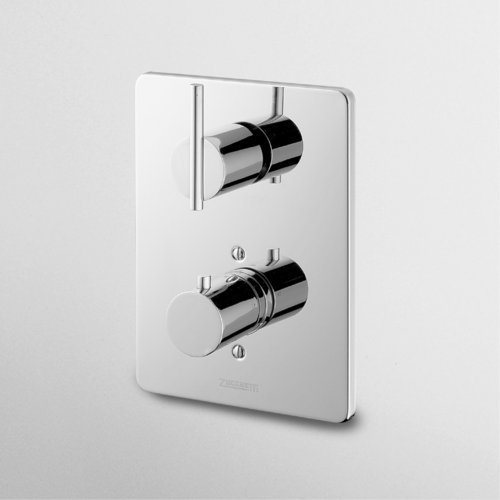 Zucchetti Spin Built In Thermostatic Mixer With Puw-0