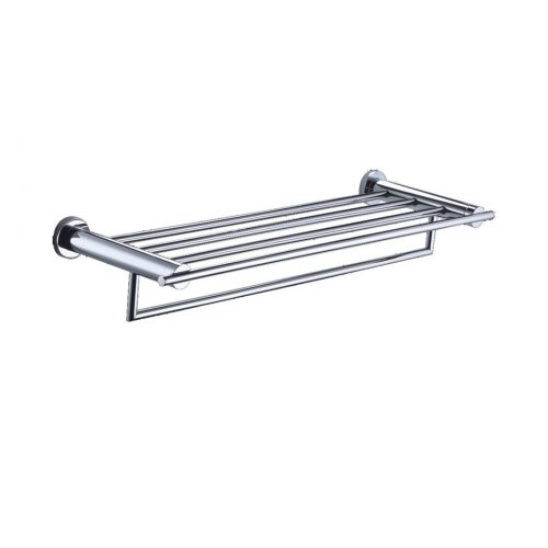 Just Taps Plus Cora Towel Shelf With Bar C.P 180181