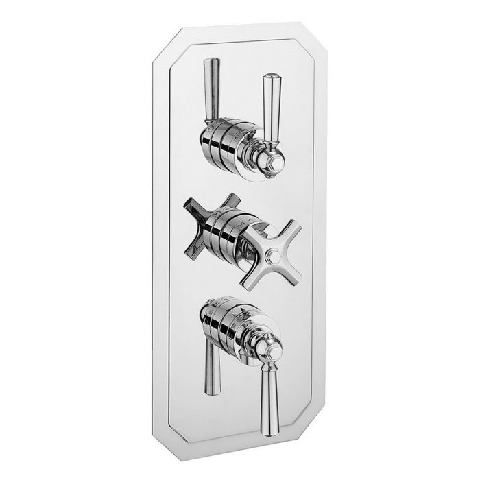 Waldorf Portrait Thermostatic Shower Valve WF3000RC_CLV+-0