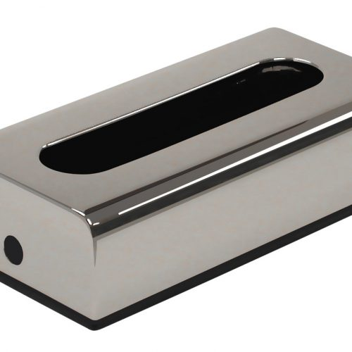 Gedy Roberta Tissue Box in a chrome finish 2008-13