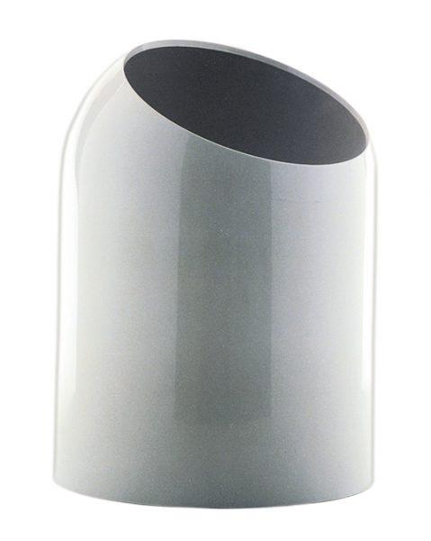 Gedy 10.8L Open Boxer Bathroom Bin In White 2009-02