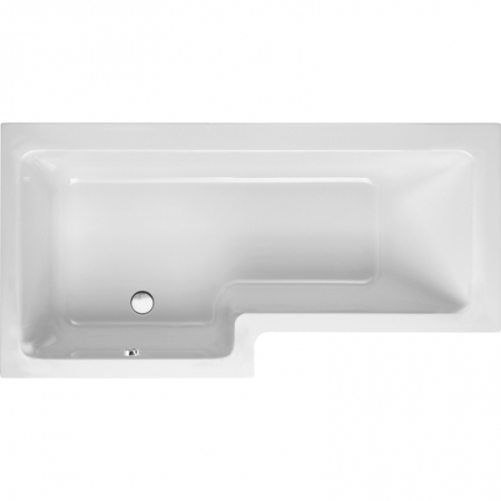 Saneux Stetson 1700 x 850mm shower bath left hand 20160