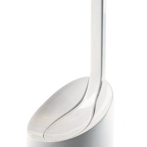 Gedy Cucciolo White Designer Toilet Brush 2033-02