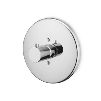 """Zucchetti Spin 3/4"""" Built In Thermostatic Shower Mixer-0"""