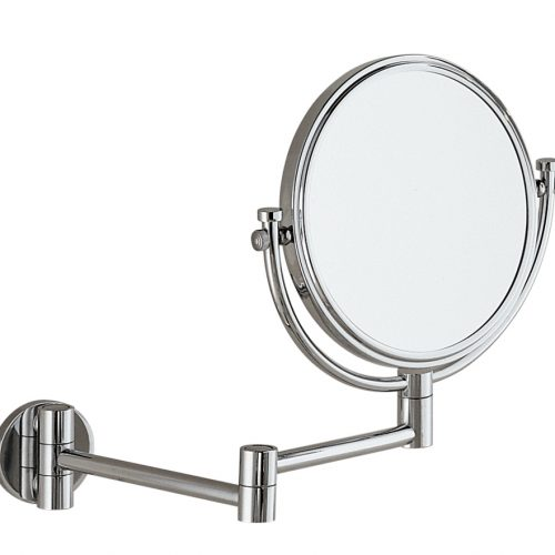 Gedy Reversable Magnifying Wall Mirror 2x chrome 2104-13