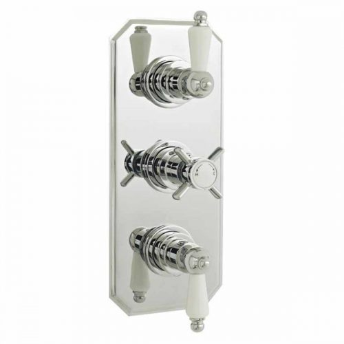 Premier Chrome Beaumont Triple Concealed Thermo Valve A3057
