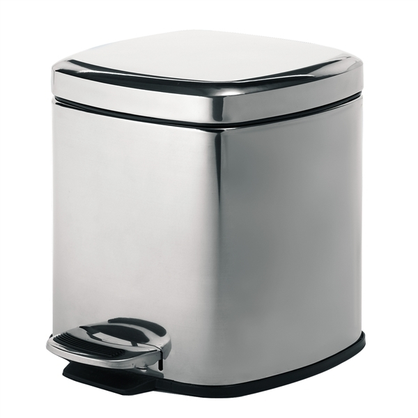 Gedy 5L Big Square Bathroom Pedal Bin 2309-13-0