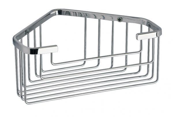 Buy Online Gedy Deep Corner Showering Shower Basket Chrome 2483-13