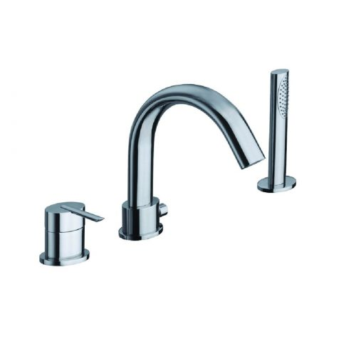 Just Taps Plus Ovaline Bath And Shower Mixer 2618045