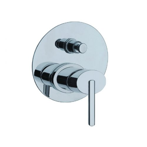 Just Taps Plus Ovaline Conc Shower Mixer and Div 2618079