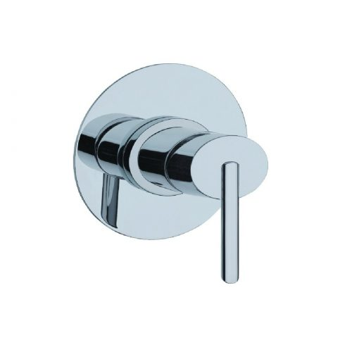 Just Taps Plus Ovaline Conc S/LVR Shower Mixer 2618227