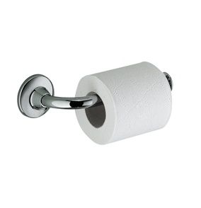 Gedy Ascot open toilet roll holder in chrome 2724-13