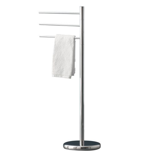 Gedy Free Standing Towel Stand In Chrome 2731-13-0