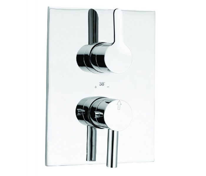Just Taps Plus Thermostatic Concealed Shower Valve 29651