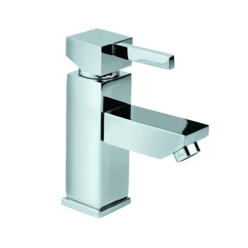 Just Taps Plus Square mini basin mixer no waste 35161