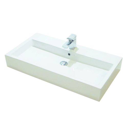 Saneux Panoramic 90 x 48cm 1TH square basin Only 6644