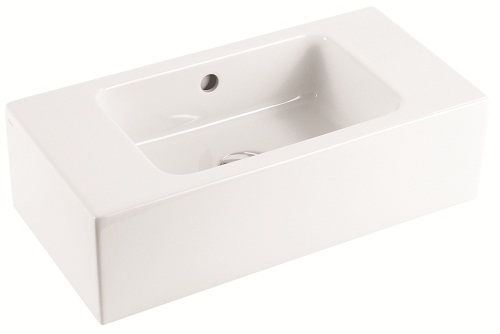 Saneux MATTEO No Tap Hole Washbasin 51 x 25cm 39006