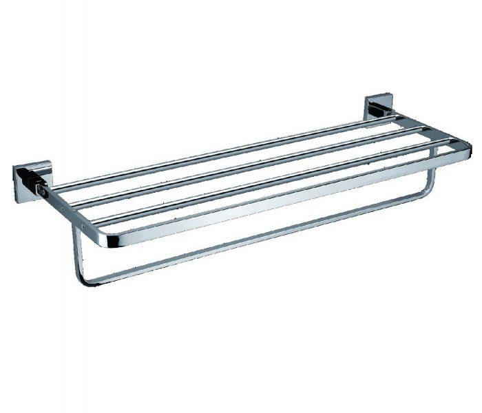 Just Taps Plus Towel Shelf With Bar C.P 400181