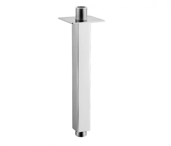 Just Taps Plus Square Ceiling Shower Arm, 200MM 42015-0
