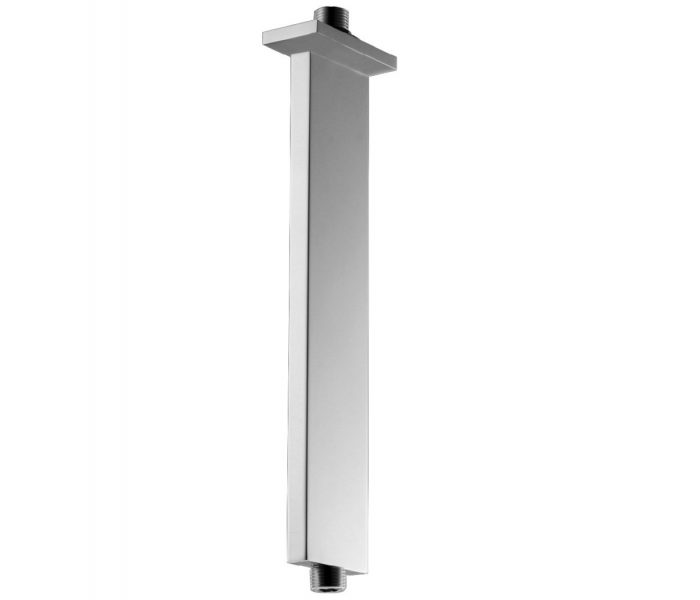 Just Taps Plus Rectangle Ceiling Shower Arm, 300mm 42016