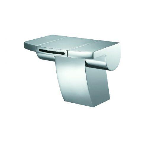 Just Taps Plus Flow Mono Basin Mixer with waste 43169