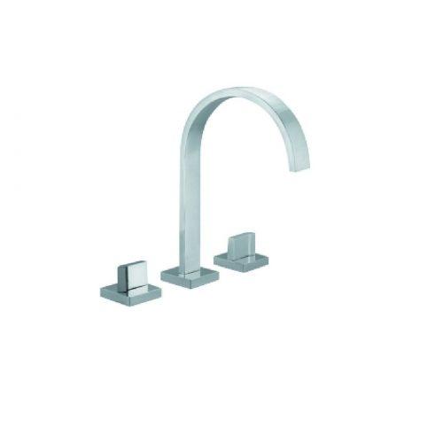 Just Taps Plus Leo 3 Hole Bath Filler, LP 0.2 45095