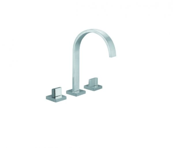 Just Taps Plus Leo 3 Hole Bath Filler, LP 0.2 45095