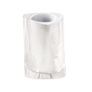 Gedy Twist Tumbler In White 4698-22