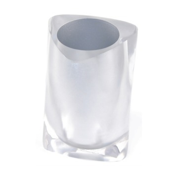 Gedy Twist Tumbler In Silver 4698-73