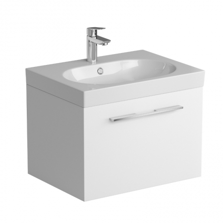 Saneux Austen 500201 60cm White basin unit ONLY
