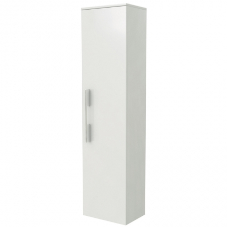 Saneux AUSTEN Tall White Bathroom Storage Unit