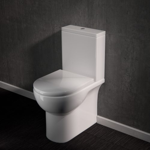 Saneux Austen Close Coupled WC toilet with soft close seat 50070 50071 50073-0
