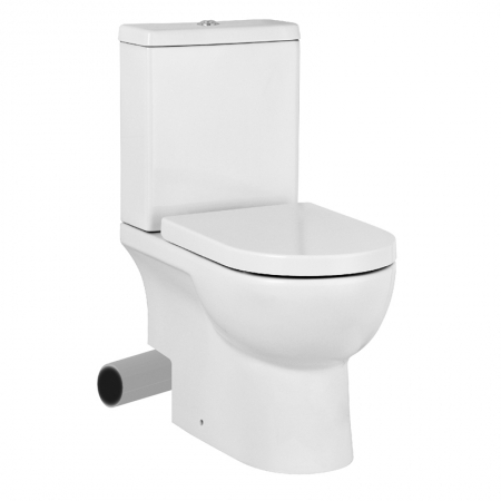 Saneux Austen Close Coupled Pan ONLY Left Hand Waste Toilet