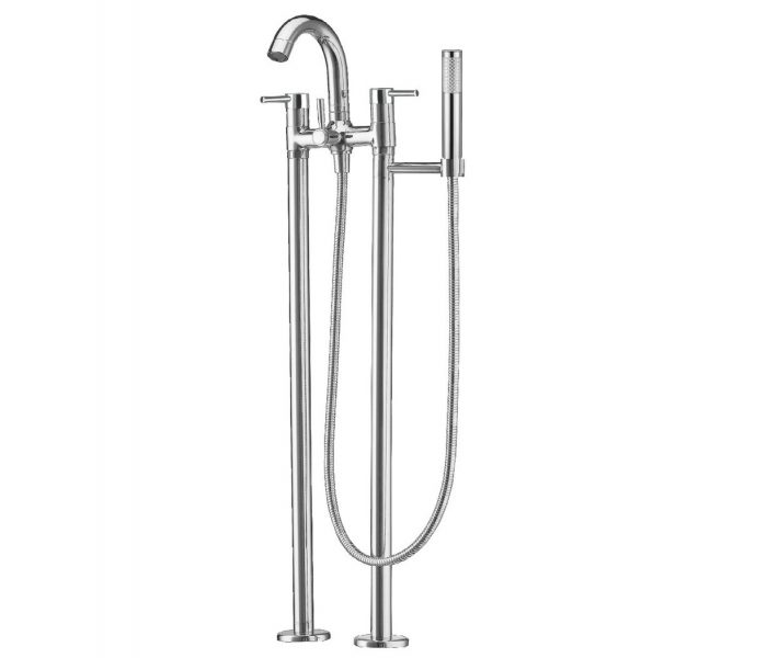 Just Taps Plus Floor standing bath shower mixer 52576