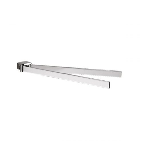 Gedy Lounge Bathroom Swing Towel Rail in Chrome 5423-13