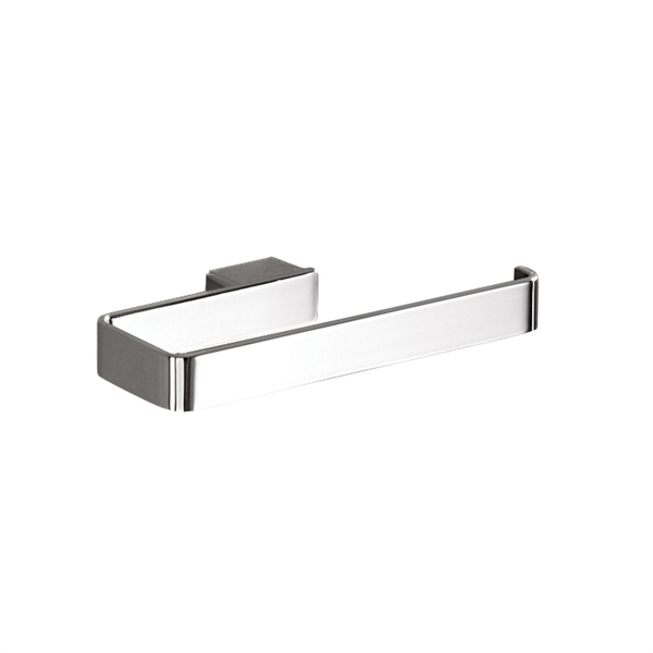Gedy Lounge Modern Square Towel Ring in Chrome 5470-13