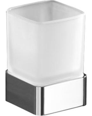 Gedy Lounge free standing bathroom glass tumbler 5498-13