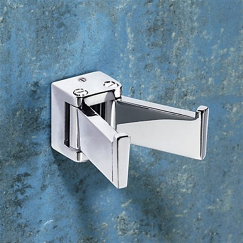 Gedy Glamour Double Swing Robe Hook In chrome 5728-13
