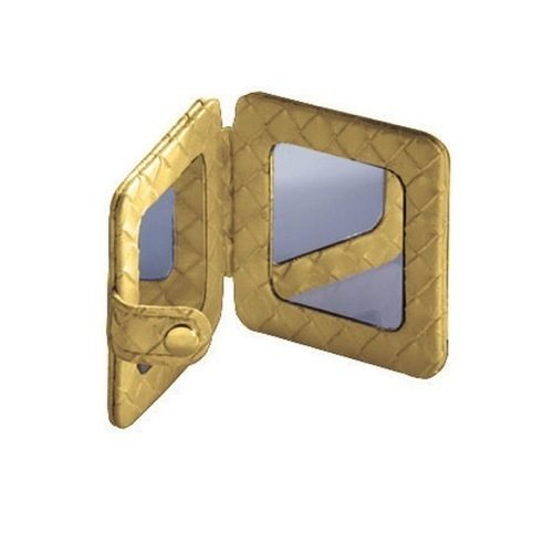 Gedy Marrakech Compact Beauty Mirror in Gold 6760-87