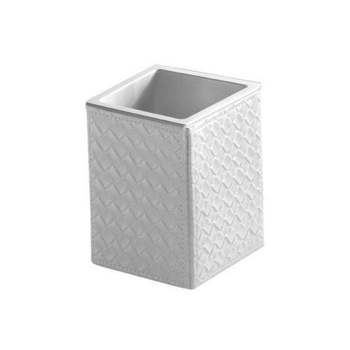 Gedy Marrakech Bathroom Tumbler in White Pearl 6798-42