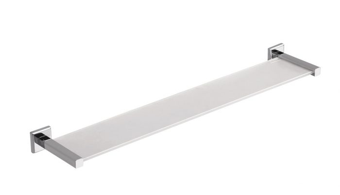 Gedy Colorado Bathroom Glass Shelf 61cm Long 6919/60-13
