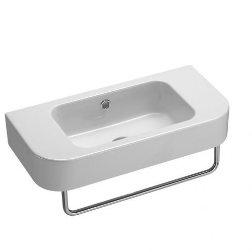 Saneux Jones Washbasin 55cm Left hand tap hole 6947.LH