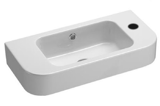 Saneux Washbasin 55cm Right Hand Tap Hole 6947.RH