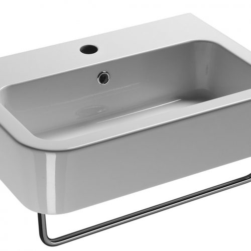 Saneux Jones Washbasin 60 x 44cm 1 Tap Hole 6949