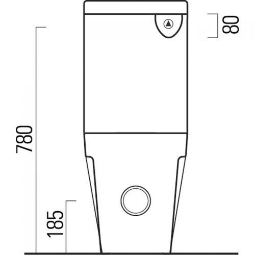 Saneux Jones Cistern Only 6981